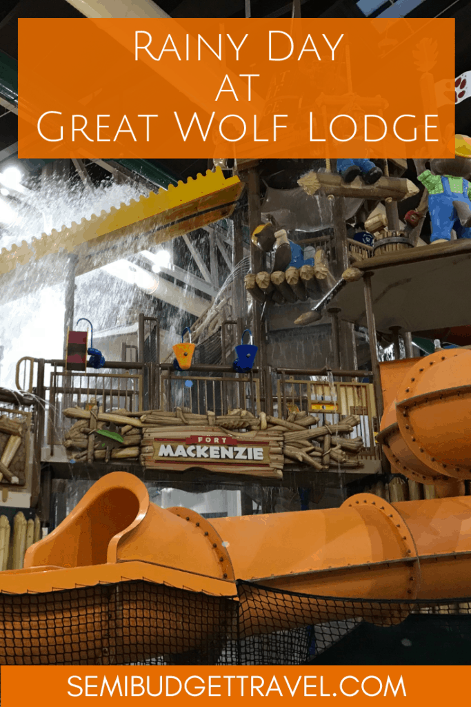 Rainy Day at Great Wolf Lodge | Semi-Budget Travel